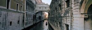 Bridge on a Canal, Bridge of Sighs, Grand Canal, Venice, Italy