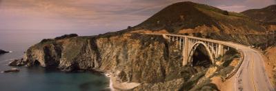 Bridge on a Hill, Bixby Bridge, Big Sur, California, USA