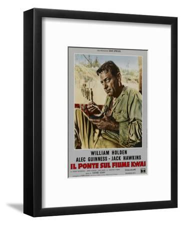 Bridge on the River Kwai, Italian Movie Poster, 1958