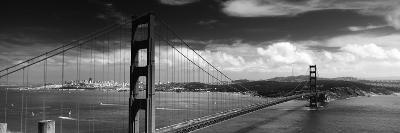Bridge over a River, Golden Gate Bridge, San Francisco, California, USA--Photographic Print