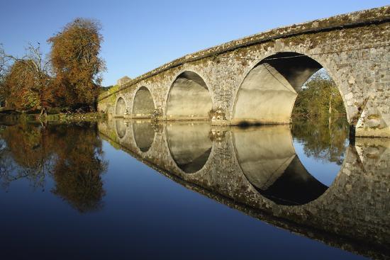 Bridge over River Nore; Bennettsbridge, County Kilkenny, Ireland-Design Pics Inc-Photographic Print