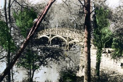 Bridge over the River Thames at Nuneham Courtenay, Oxfordshire, 1926--Giclee Print