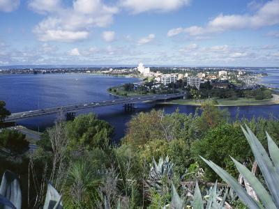 Bridge Over the Swan River, Perth, Western Australia, Australia-Loraine Wilson-Photographic Print