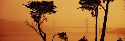Bridge Over Water, Golden Gate Bridge, San Francisco, California, USA--Photographic Print