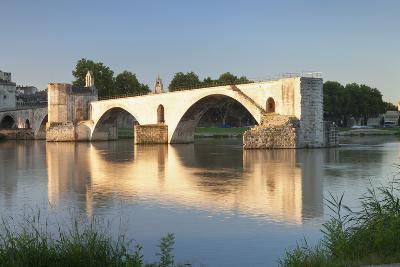 Bridge St. Benezet over Rhone River, Provence-Alpes-Cote D'Azur-Markus Lange-Photographic Print