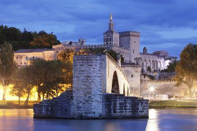 Bridge St. Benezet over Rhone River-Markus Lange-Photographic Print