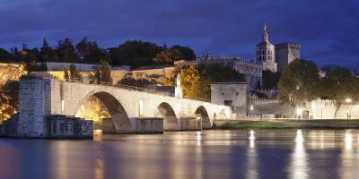 Bridge St. Benezet over Rhone River-Markus Lange-Photographic Print