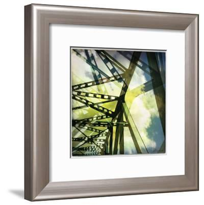 Bridge structure II-Jean-François Dupuis-Framed Art Print