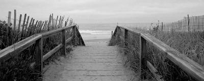 Bridge to Sea--Art Print