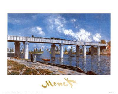 Bridge-Claude Monet-Art Print