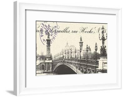 Bridge-Z Studio-Framed Art Print