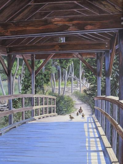 Bridge-Rusty Frentner-Giclee Print