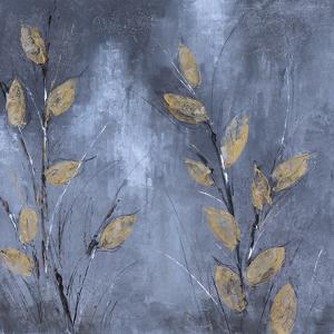 Leaves at Dusk II by Bridges