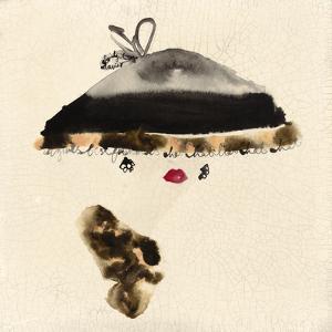 The Leopard Trimmed Hat by Bridget Davies