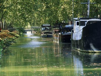 Brienne Canal, Toulouse, Haute-Garonne, Midi-Pyrenees, France, Europe--Photographic Print