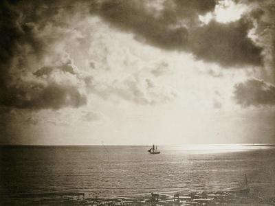 Brig on the Water, 1856-Gustave Le Gray-Giclee Print