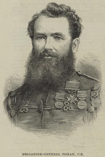 Brigadier-General Doran--Giclee Print