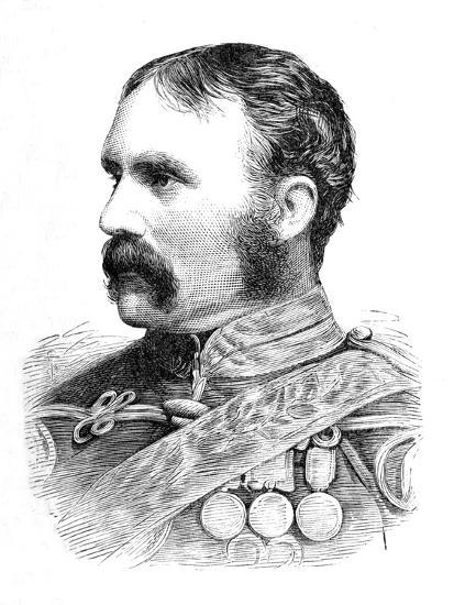 'Brigadier-General H. F. Brooke', c1880-Unknown-Giclee Print