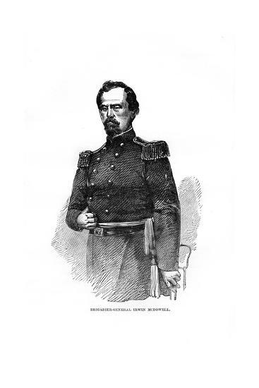 Brigadier-General Irvin Mcdowell, American Military Officer--Giclee Print