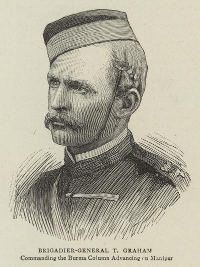Brigadier-General T Graham--Giclee Print