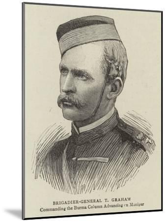 Brigadier-General T Graham--Mounted Giclee Print