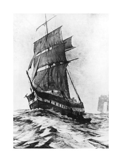 Brigantine Mary Celeste--Giclee Print