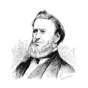 Brigham Young, American Mormon Leader, 1877