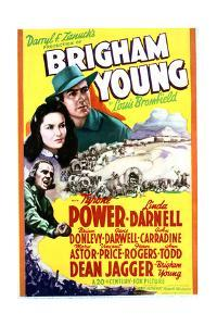 Brigham Young - Movie Poster Reproduction