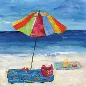 Bright Beach Umbrella I