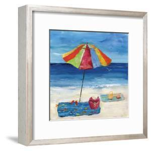Bright Beach Umbrella I
