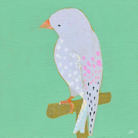 Bright Birds - Playful-Joelle Wehkamp-Giclee Print