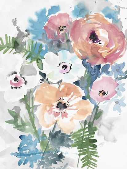 Bright Bouquet 3-Megan Swartz-Art Print