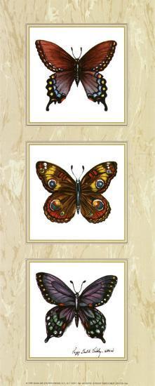 Bright Butterflies-Peggy Thatch Sibley-Art Print