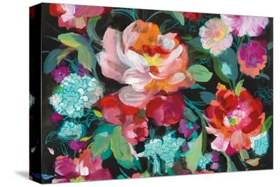 Bright Floral Medley Crop-Danhui Nai-Stretched Canvas Print