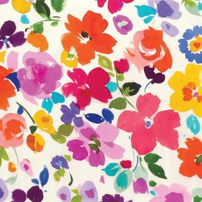 Bright Florals  I-Hugo Wild-Premium Giclee Print