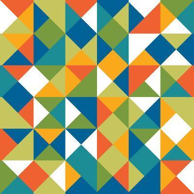 Bright Geometrics II-N^ Harbick-Art Print