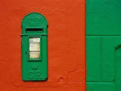 Bright Green Mail Slot-Richard Cummins-Photographic Print