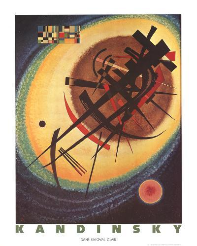Bright Oval-Wassily Kandinsky-Collectable Print