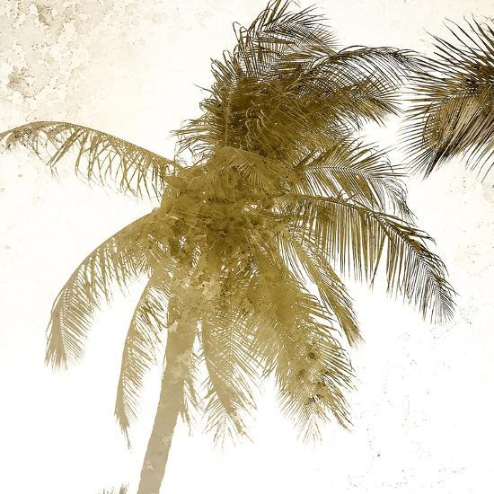 Bright Palm Gold 1-Kimberly Allen-Art Print