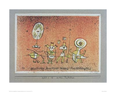 Bright Side Postcard-Paul Klee-Giclee Print