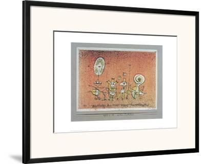 Bright Side Postcard-Paul Klee-Framed Giclee Print