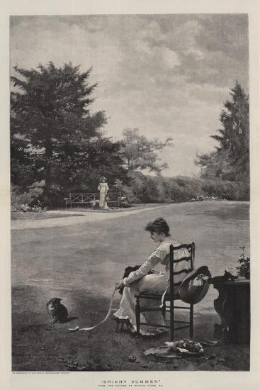Bright Summer-Marcus Stone-Giclee Print