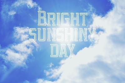 Bright Sunshiney Day-Vintage Skies-Giclee Print