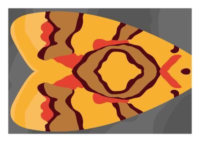 Bright Tiki Moth-Belen Mena-Giclee Print