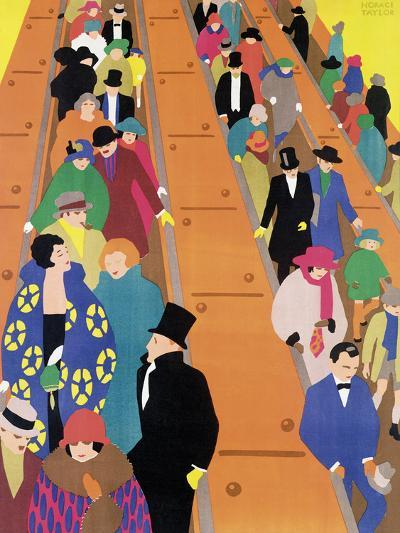 Brightest London is Best Reached by Underground, 1924-Horace Taylor-Giclee Print