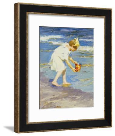 Brighton Beach-Edward Henry Potthast-Framed Giclee Print