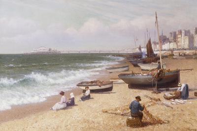 Brighton Beach-Alexander Young-Giclee Print