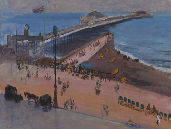 Brighton from the Royal Albion-Sir John Lavery-Giclee Print