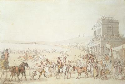 Brighton Races, 1816-Thomas Rowlandson-Giclee Print