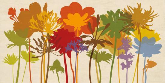 Brilliant Bloom-Erin Lange-Art Print